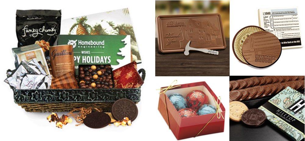 Custom Chocolate Business Gifts