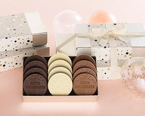 Custom celebration cookies