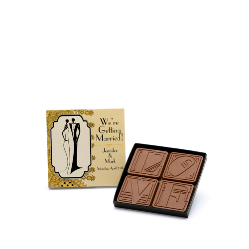 wedding-fully-custom-chocolate-3014-mini-4-piece-set-love-getting-married