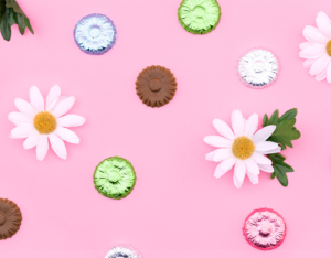 Totally-Chocolate-spring-summer-foil-flowers-mobile